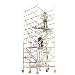 Прочный портативный алюминиевый сооружением с рамы лестницы