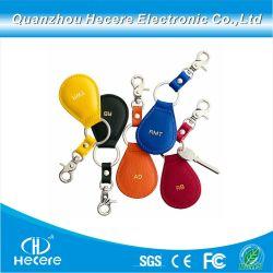 860-960MHz extranjero UHF-3 Ucodegen Higgs2 PVC ABS de cuero Llavero Llavero RFID RFID
