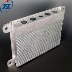 La coutume de haute précision en aluminium à usinage fraisage CNC Skived dissipateur de chaleur