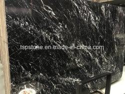 Nero Marquina мрамора камня для слоя пола/пол/лестницы/стены/ванная комната и кухня плитка/ванная комната/Миниатюры на стене