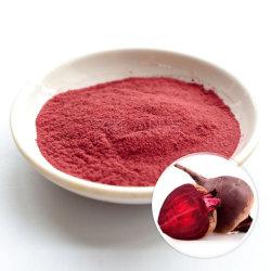Certifiés casher Beta vulgaris racine de betterave Jus de fruits en poudre instantanée