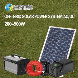Het gehele Geïntegreerdet Kleine Dak die van het Zonnepaneel DIY van de ElektroSystemen van het Net opzetten