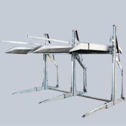2 Post couche double en acier hydraulique de levage pour le stationnement de voiture