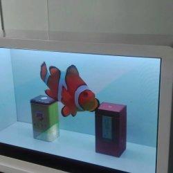 """Custodia trasparente con schermo LCD Trasparente da 49"""""""