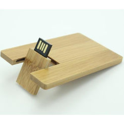 Cartão de Visita USB madeira 2.0 USB Flash Memory Stick Pen Thumb Drive 8 GB