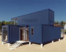 Два этаже модульный сегменте панельного домостроения/ Сборных Переносной контейнер дом для отдыха