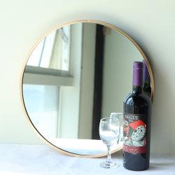 Casa de 5 mm a 4 mm Golden emoldurado espelho da cor do aço para Home