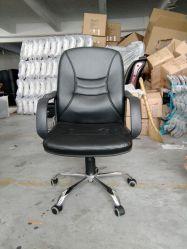 Le milieu du dos ordinateur cuir pivotant réglable chaise de bureau président (maille de la FECA1077)
