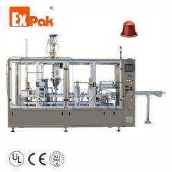Expak разлагаемые совместимых высокого качества на заводе скорости Полностью автоматическая кофе капсула заполнение кузова упаковочные машины для Nespresso K чашки кофе Lavazza Dolce Gusto