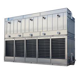 Bobina del sistema di refrigerazione della catena fredda della Cina e tipo condensatore evaporativo del piatto dell'ammoniaca