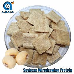 Argc Textured Soja-eiwit Sojaboon-drawing-eiwit 70% niet-GGO-soja Bean Tvp Groothandel eetbaar Textured Soy Protein toegepast op Veggie Burger