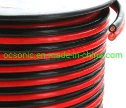 14ゲージ(アメリカワイヤーGa) 100フィート99.97%のOFCによって残される酸素の自由に銅、赤くまたは黒い担保付きのジッパーのコードのスピーカーケーブル