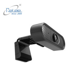 Home Video Meeting PC를 위한 Microphone Web Cam건축하 에서 USB Webcam 1080P Conference Camera HD Wide Angle