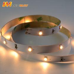 Non-Waterproof 3528 2,4 W/M 12V Flexível de LED para decoração de interiores Light