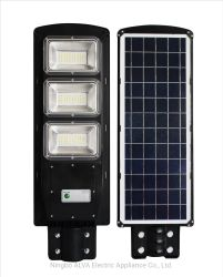 IP65 도로 조명 LED가 있는 야외 가로등 LED 실외등 SMD 90W 통합형 태양광 LED 전등 태양열 가로등