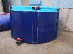 De Opvouwbare Tank Koi van pvc om Plastiek die de Vijver van Vissen vouwen