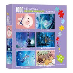 Puzzle di plastica del puzzle di paesaggio del commercio all'ingrosso di puzzle delle 1000 parti per il puzzle senza polvere adulto