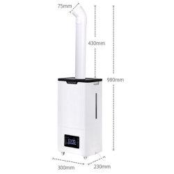 Atomizador Automático desinfecção ultravioleta de ultra-sons de equipamentos de canal para o pessoal da prevenção da epidemia pequeno galpão de desinfecção o pulverizador 15L
