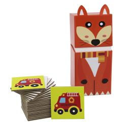 OEM OBM Custom Paper Educational Toy Cartoon Box met Jigsaw Puzzel