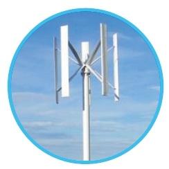 Dati e specifiche delle turbine eoliche verticali serie FC da 500 W a 10 kW