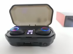 LED de novo monitor de Inicialização Automática Bluetooth conectado Mega Bass com função de lanterna fone de ouvido Bluetooth