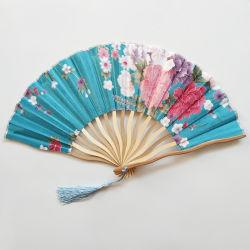 [I am Ваших фанатов]красивые ткани ручной работы свадебные приглашения ручной вентиляторы