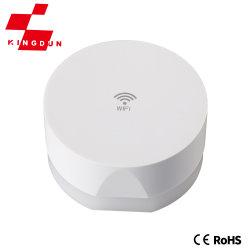 Detector de color blanco alarma de humo en línea inalámbrica de gas doméstico