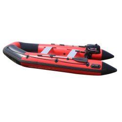 Vitesse de caoutchouc pliables Bateau avec moteur de vitesse de plancher aluminium pour le sauvetage Rescuetech d'application