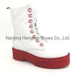 Moda zapatos mujer Zapatos de Damas de las llamas de marca de zapatos de tacón zapatos mujer botas militares