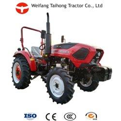 يتم إمداد جرار المزارع بالعجلات الأربع بقدرة 30HP 40HP 50HP 55HP جرار المزارع الصغيرة للمشي الزراعي مع CE