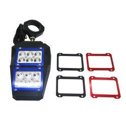 """1.75 """" /2 """" di lato di retrovisione rispecchia gli indicatori luminosi del punto del LED"""