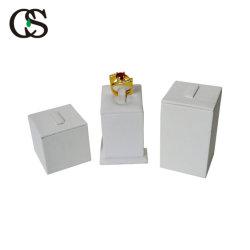 مصنع تصنيع المعدات الأصلية المهنية تخصيص PU الجلد المخملية عرض المجوهرات للحلقة/العقد/العروة/الحلقة