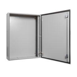 NEMA IP65 توزيع الورق على صندوق التثبيت على الحائط المخصص في الهواء الطلق حاوية معدنية كهربائية