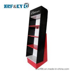 Pavimento del documento ondulato del cartone/banco di mostra del controsoffitto/mensola/cremagliere stampati promozionali su ordinazione/casella