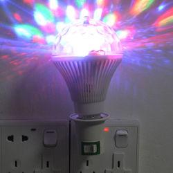 Home Party effet boule de cristal de décoration Magic Mini RGB éclairage de scène.