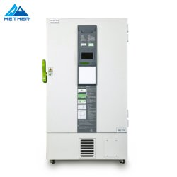 CE ISO-gecertificeerd cascade-systeem -86 graden 588L Ultra Low Temperatuur rechtop vriezer voor biologisch monster en vaccin