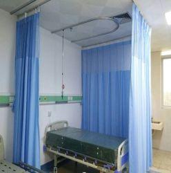 Inherent vlamvertragend gordijn met doorvoertule voor ziekenhuis/kliniek