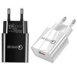 شاحن الهاتف المحمول USB 5V3.1A Standard American Standard QC3.0 محول طاقة متعدد الوظائف