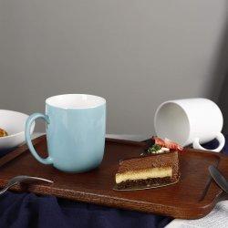 18 onças Canecas, grandes copos de porcelana para café, chá, cacau, Conjunto de 6, várias cores