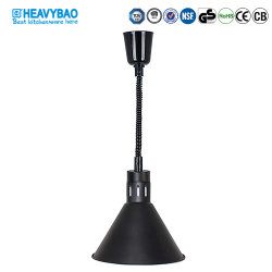 Equipamiento de cocina comercial Heavybao Comida Buffet eléctrico lámpara de calor para Restaurante