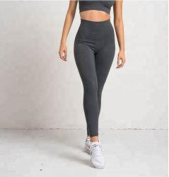 La compresión de las mujeres Yoga Polainas pantalones deportivos nylon y Spandex