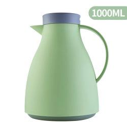 1L de plastic Thermosflessen van de Pot van de Koffie van het Glas van het Gebruik van het Huis Binnen
