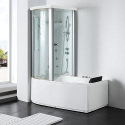 غرفة بخار المينا بالكريدي المصبوب وحوض استحمام ساخن مع أكريليك (G8040)