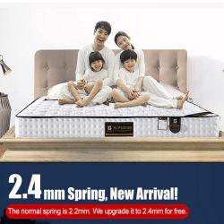 휴양지 호텔 2인용 침대를 위해 편리한 두껍게 한 봄 매트리스 거품