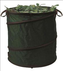 600d Polyester plegado Heavy Duty espiral Pop-up de la bolsa de residuos de jardín/Huerto emergente Fabricante de bolsas