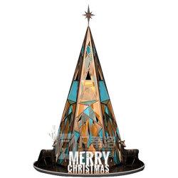 2021 Neueste Weihnachtsdekoration Giant Acryl Weihnachtsbaum zum Verkauf