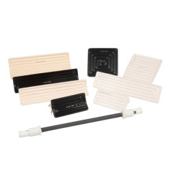 Marca Elstein semelhantes 245*60mm Trough/Hollow/Elevador eléctrico de forma plana Aquecedor de cerâmica de infravermelhos
