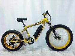 """جديد 26 """" إطار العجلة قوّيّة سمين درّاجة كهربائيّة مع [48ف] [500و] كهربائيّة درّاجة [ألومينوم لّوي] إطار مع نوع ذهب لون ([مز-034])"""