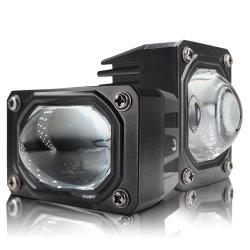 Il singolo angelo dell'obiettivo del proiettore dell'alto fascio del LED Eyes il faro dell'indicatore luminoso di segnale di girata con Canbus