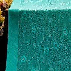 Gestricktes Polyester-Chiffon- Spitze-Blumengewebe für Dame Dress